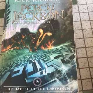 The Battle of the Labyrith Percy Jackson