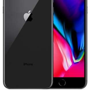 New iphone8  plus 64gb space grey