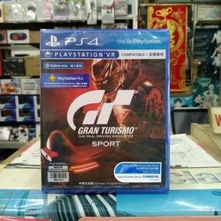 🆕 PS4 Gran Turismo Sport