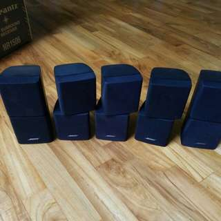 Bose jewel speakers x 5