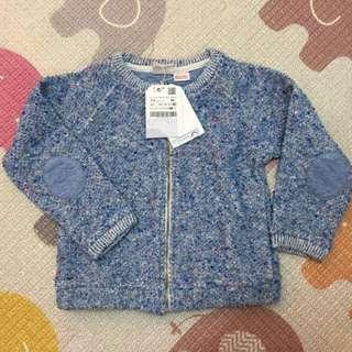 【Zara】BabyGirl 粗針織外套