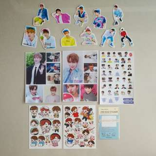 Wanna One Sticker Grabbag Christmas Sales