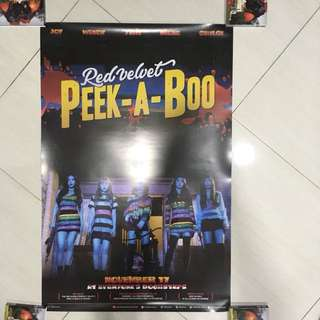 RED VELVET 2ND ALBUM PERFECT VELVET POSTERS