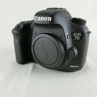 Canon EOS 7D Mark II / 7D2 單眼相機 盒裝  英日介面 快門數38620