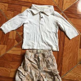 Preloved ootd original old navy and est 1989 1 to years old
