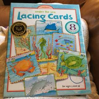 Lacing cards $10