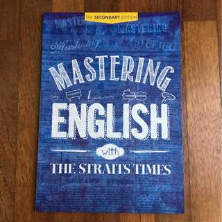 [Sale] Mastering English with The Straits Times