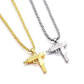 Supreme UZI Gun Necklace