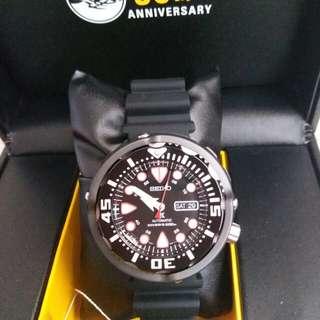 50週年限量版   SEIKO  機械潛水錶 原價$4770