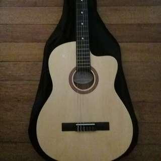 RJ Manila Guitar w/bag