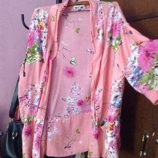 GIYOMI sakura kimono outer