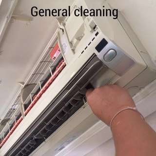 Aircon service @ general cleaning service