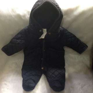 AUTH RL THERMAL OVERALL FROGSUIT
