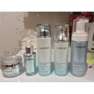 LANEIGE White Plus Renew Skin Care Package
