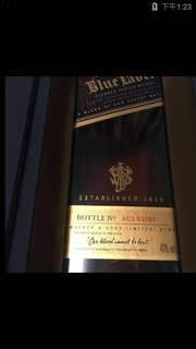 Blue Label威士忌酒