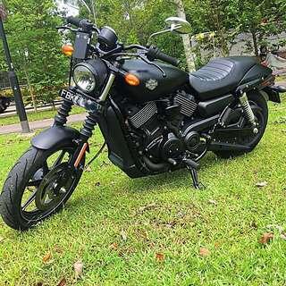 CHEAP! 2015 Harley Davidson Street 750