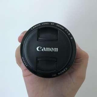 Canon Lense 50mm 1.8