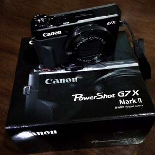 RUSH SALE!! Canon Powershot G7x Mark 2