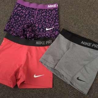 Nike pros x3