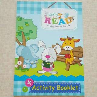 FREE NM📬Brand New Early Read Raising Readers For Life Activity Book With Stickers Pages