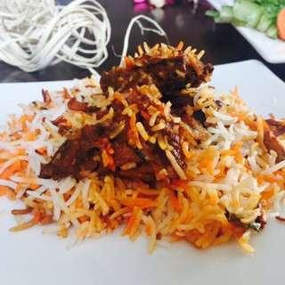 Hydrebhadi Chicken dum Biryani