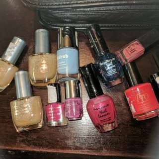 Nail polish lot 3.00 each or all for 30