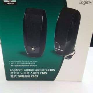 Logitech Laptop Speaker me Z105 (全新未用過)