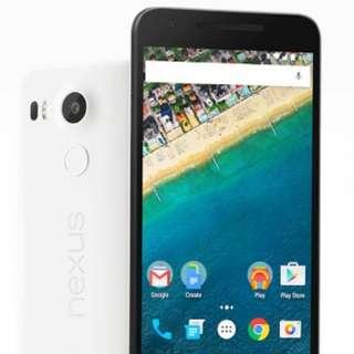 Pre-owned LG Nexus 5x 16GB White Oreo 8.1.0