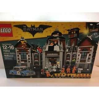 全新 樂高 LEGO 70912蝙蝠俠電影系列 阿卡漢精神病院