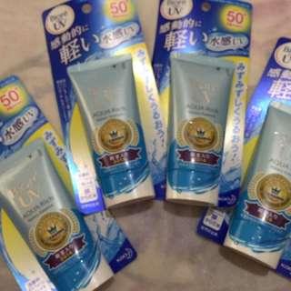 Biore UV Aqua Rich Watery Essence (sunscreen)