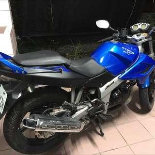 2011 藍色街跑酷龍 150cc 可換車