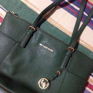 MK (Michael Kors) Leather Bag