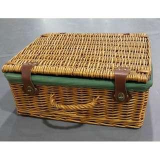 竹製行李箱