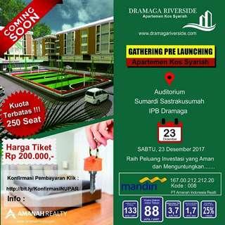 Tiket Gathering Apartemen Kost Dramaga Riverside