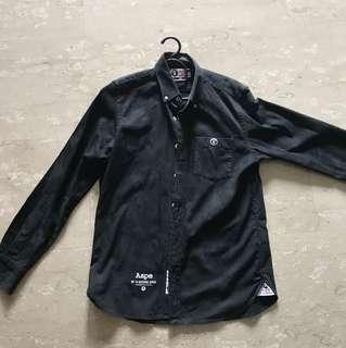 Aape Black Longsleeve Shirt