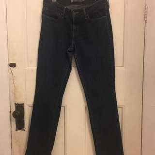 Levi's blue denim jeans size 6 28