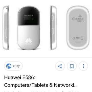 Original Huawei Pocket WiFi E586