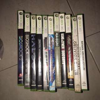 Xbox 360 Games - first come first served