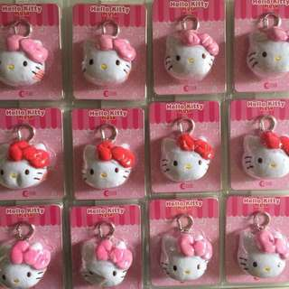 Limited Edition brand new Hello Kitty Pink Colour and Red Colour ezlink charms for only $30.
