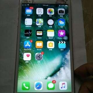 Iphone6s plus 玫瑰金 128gb 8-9成新