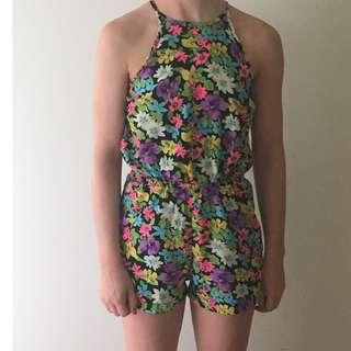 Sabo Skirt Floral Jumpsuit
