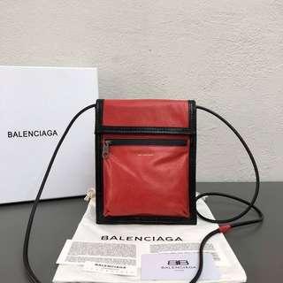 Balenciaga 巴黎世家 明星同款 新款斜挎包腰包 92251