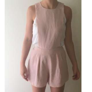 Pale Pink Jumpsuit