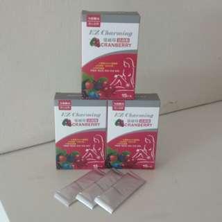 蔓越莓活菌粉ㄨ3盒
