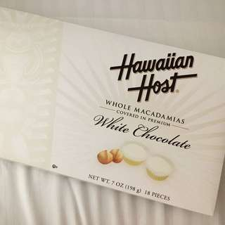 夏威夷直購 Hawaiian Host 白巧克力 夏威夷果