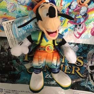 東京迪士尼 夏祭 限定版 高飛狗 吊飾