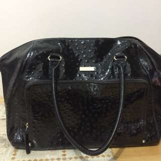 Kate Spade Blaine Ostrich Leather
