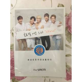 LIMITED EDITION SHINee x the saem mask