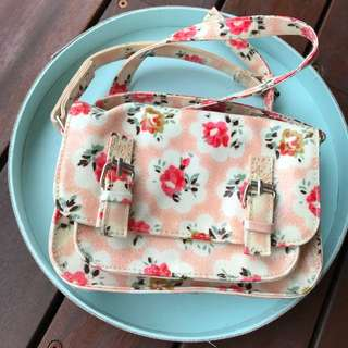 SEED girls floral crossbody bag