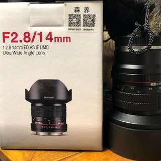Samyang 14mm 2.8F (E-Mount Full Frame)
